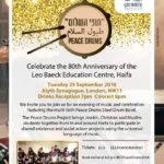Celebrate with us at 80th anniversary concert in London on September 25th, 2018